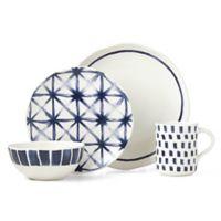 Lenox® Painted Elements™ Indigo Sketch 16-Piece Dinnerware Set