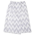 Self™ One Size Adult Cotton Chevron Wrap Sarong in Grey