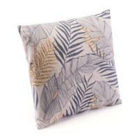 Zuo® Modern Tropical Square Throw Pillow in Grey