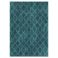 Orian Rugs Spoleto Loop 5'3 x 7'6 Area Rug in Aqua