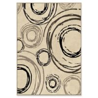 Orian Rugs Nuance Centric Woven 7'10 x 10'10 Area Rug in Beige