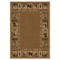 Orian High Country 5-Foot 3-Inch x 7-Foot 6-Inch Area Rug in Alabaster