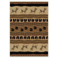 Orian Rugs® Oxford White Tail 7'10 x 10'10 Area Rug in Bisque