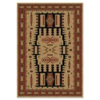 Orion Rugs Oxford North Fork 7'10 x 10'10 Area Rug in Beige