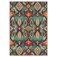 Orian Rugs Monica Southwest Multicolor 5'3 x 7'6 Area Rug