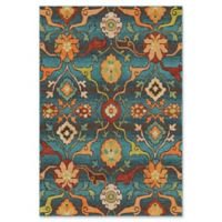 Orian Rugs Tibet Floral 5'3 x 7'6 Area Rug in Blue