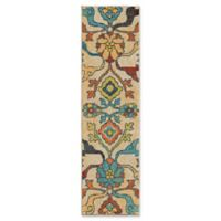 Orian Rugs Tibet Floral Multicolor 2'3 x 8' Runner