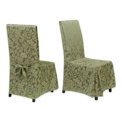 Buy Damask Chair Covers From Bed Bath Beyond