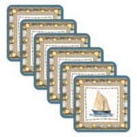 Pimpernel Coastal Breeze Coasters (Set of 6)