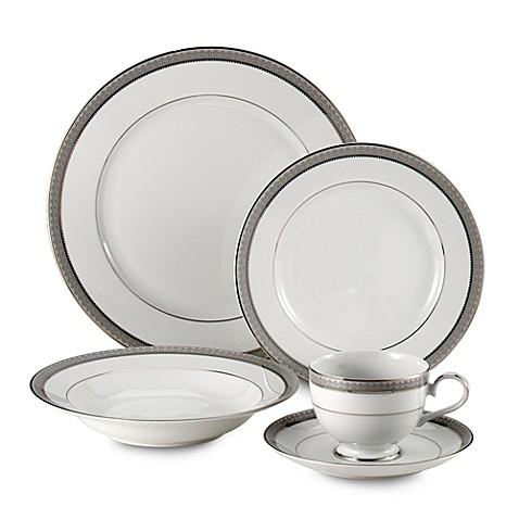 Home Reserve Furniture Mikasa® Platinum Crown Dinnerware Collection - Bed Bath ...