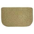 Mohawk Home® 18-Inch x 30-Inch Diamond Slice Memory Foam Kitchen Mat in Beige