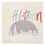 Thirstystone® Dolomite Chi-Town Single Square Coaster