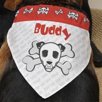 Bad to the Bone Pet Bandana
