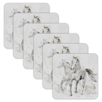 Pimpernel Spirited Horses Coasters (Set of 6)