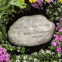 """In Loving Memory"" Large Garden Stone"