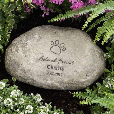Buy memorial garden stones from bed bath beyond pet memorial large garden stone workwithnaturefo