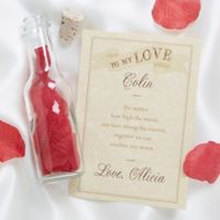 To My Love Letter In A Bottle
