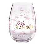 Formations Stemless Wine Glass in Flamingo
