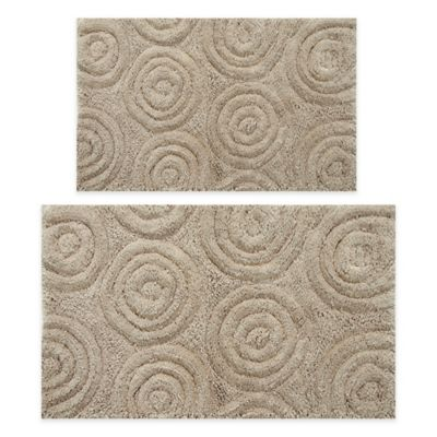 Perthshire 20 X 30 And 21 34 Circles Bath Rug In