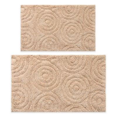 Perthshire 20 X 30 And 24 40 Circles Bath Rug In