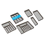 madesmart Drawer Organizers in Grey