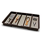 madesmart Expandable Utensil Tray in Grey