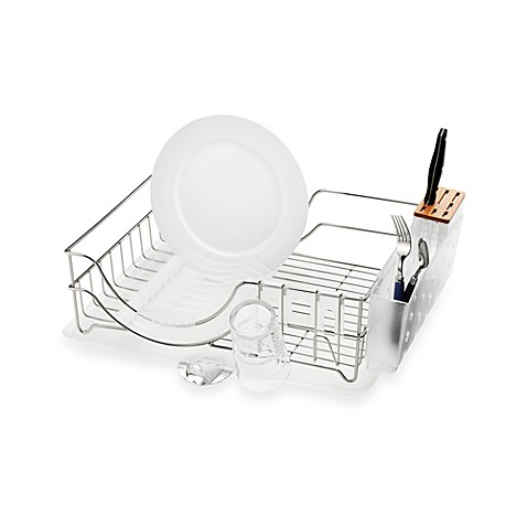 Simplehuman 174 Dish Rack System Bed Bath Amp Beyond