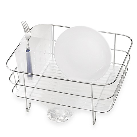 Simplehuman 174 Compact Stainless Steel Dish Rack Bed Bath