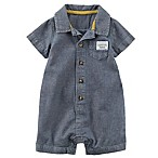 carter's® Newborn Handsome Gentleman Romper in Chambray
