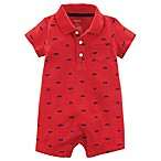 carter's® Size 6M Car Romper in Red