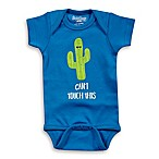 "Sara Kety® Size 0-6M ""Can't Touch This"" Cotton Bodysuit in Royal"