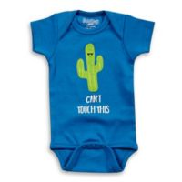 """Sara Kety® Size 6-12M """"Can't Touch This"""" Cotton Bodysuit in Royal"""