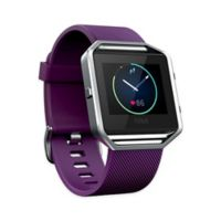 Large Silicone Band with Frame for Fitbit Blaze™ in Purple