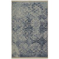 Mohawk Home 5' x 8' Paisley Jane Area Rug in Blue