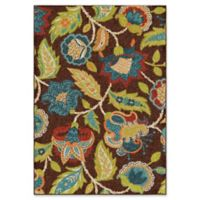 Buy Brown Green Area Rug From Bed Bath Amp Beyond