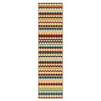 Orian Rugs Veranda Connect the Dots Gemstone 7'5 Multicolor Runner Rug