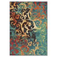 Orian Rugs Nepal Scroll 6'7 x 9'8 Multicolor Area Rug