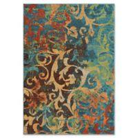 Orian Rugs Nepal Scroll 7'10 x 10'10 Multicolor Area Rug
