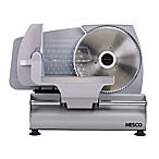 Nesco® FS-160 Food Slicer in Stainless Steel/Black