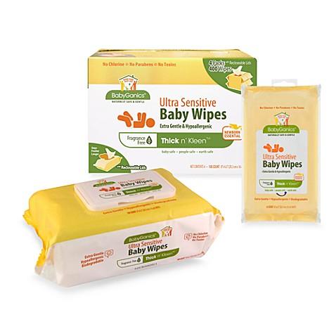 Babyganics baby wipes