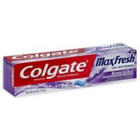 Colgate® 6 oz. Max Fresh Knock Out Whitening Toothpaste in Mint Fusion