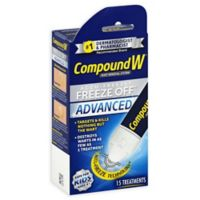 Compound W® Freeze Off® 15-Count Advanced Treatment Wart Remover
