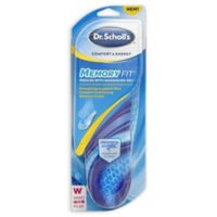 Dr. Scholl's® 1-Pair Women's Size 6-10 Comfort and Energy Memory Fit Insoles