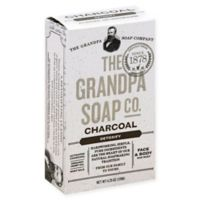 The Grandpa Soap Co. 4.25 oz. Charcoal Bar Soap Detoxifying