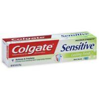 Colgate® 6 oz. Sensitive Toothpaste in Lasting Fresh Mint Burst Gel