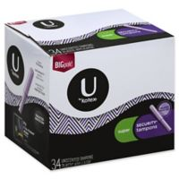 U by Kotex® Security® 34-Count Super Unscented Tampons