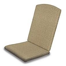 POLYWOODu0026reg; Outdoor Nautical Highback Chair Full Cushion In  Sunbrellau0026reg; ...