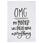 "Primitives by Kathy® ""OMG"" Kitchen Towel"