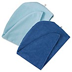 Martex Easy Living 2-Pack Hair Wrap Towels in Dark Blue