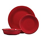 Fiesta® 3-Piece Classic Place Setting in Scarlet